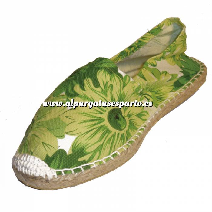 Imagen Girasol Verde ESTM - Estampada Mujer Girasol Verde Talla 39