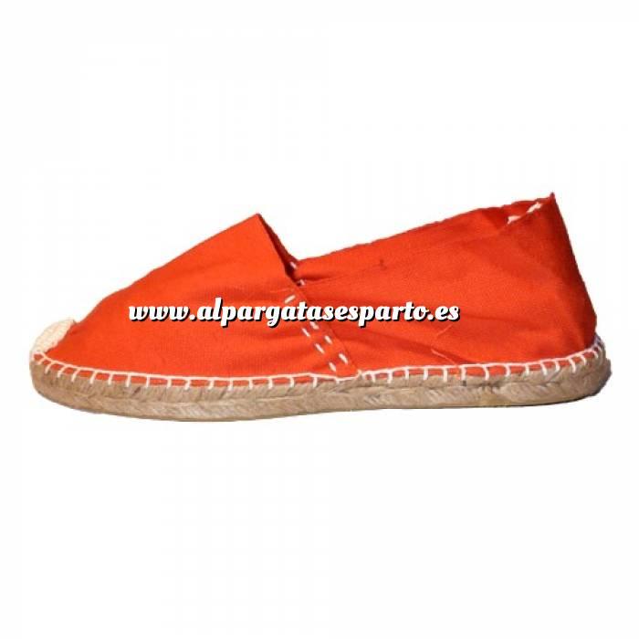 Imagen Naranja CLASM Alpargata Clásica cerrada MUJER color NARANJA Talla 40