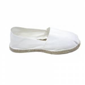 Blanco - Alpargata Española Hombre Blanco Talla 44