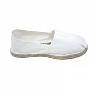 Blanco - Alpargata Española Hombre Blanco Talla 45
