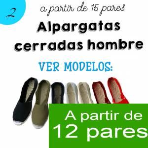 Imagen Hombre Cerradas Alpargatas Cerradas HOMBRE color MARINO - A partir de 12 pares