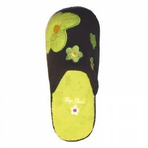 Imagen Verde PFLR Pantunfla flores mujer Verde Talla 36
