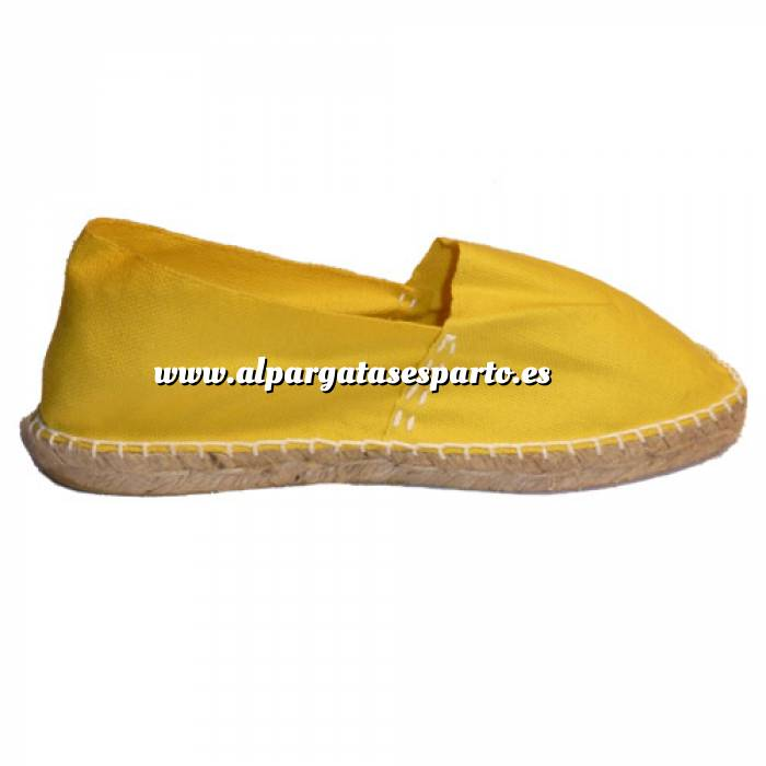 Imagen Amarillo CLASM Alpargata Clásica cerrada Mujer Amarillo Talla 40