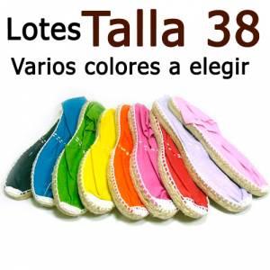 Alpargatas Elige Talla/Color_Talla 38