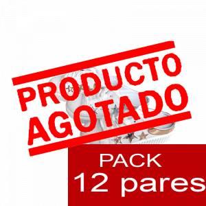 Imagen Alta Calidad BAMBAS Disco Boda - Caja 12 pares (Últimas Unidades)