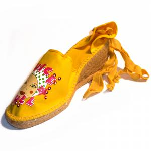 Amarillo - Mujer valenc. Diseño CH2267 Amarillo Talla 38