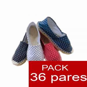 Mujer Estampadas - Alpargata estampada TOPOS Caja 36 pares (Últimas Unidades)