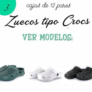 Otros Modelos_Zuecos tipo Crocs